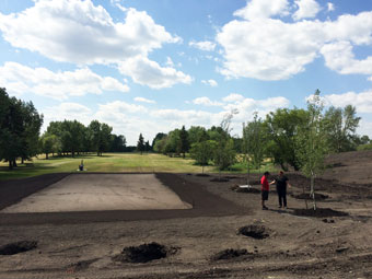 New Tee Garrison Golf Course
