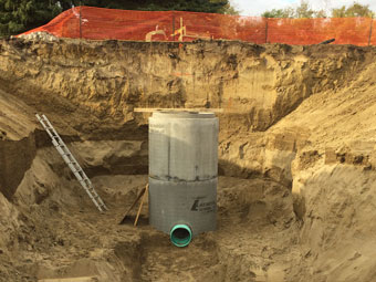 Wet Well installation